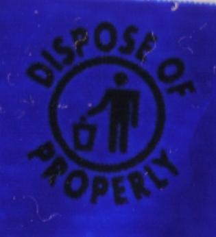 Dispose of Properly
